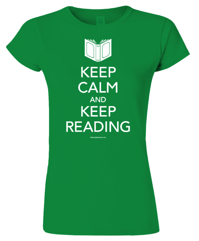 Wear your book-loving heart on your sleeves.