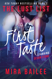First Taste (The Lust List: Devon Stone)
