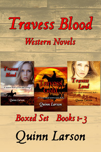 Travess Blood Western Novels: Boxed Set Books 1-3
