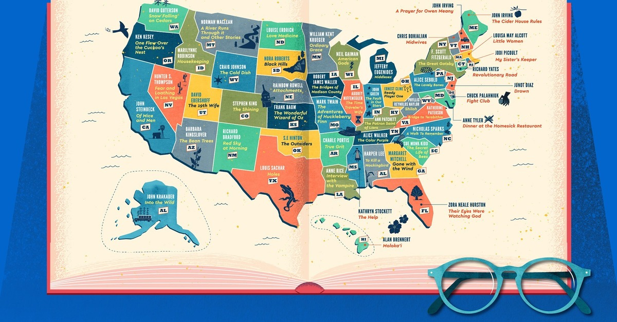 View post titled What's the most popular book set in your state?