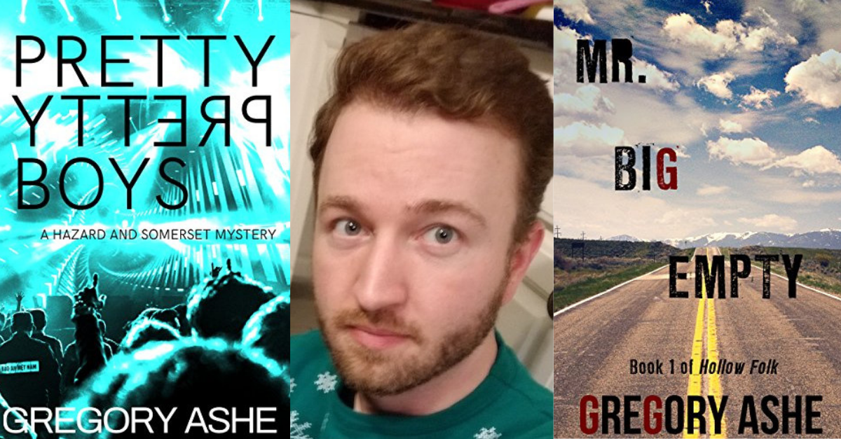 View post titled Author Q&A: Gregory Ashe