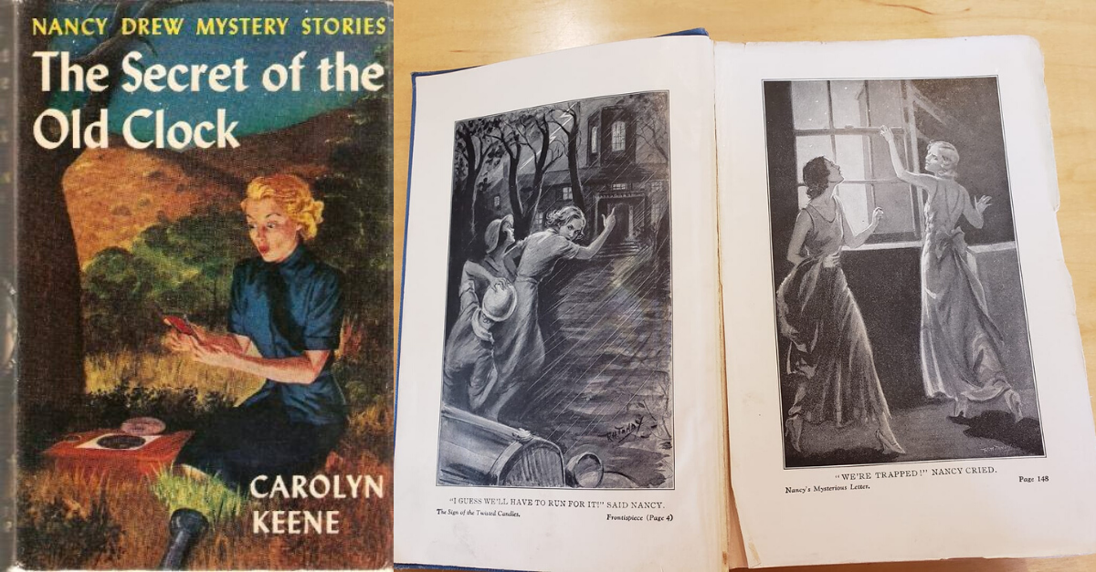 View post titled You tell us: What's your favorite Nancy Drew memory?