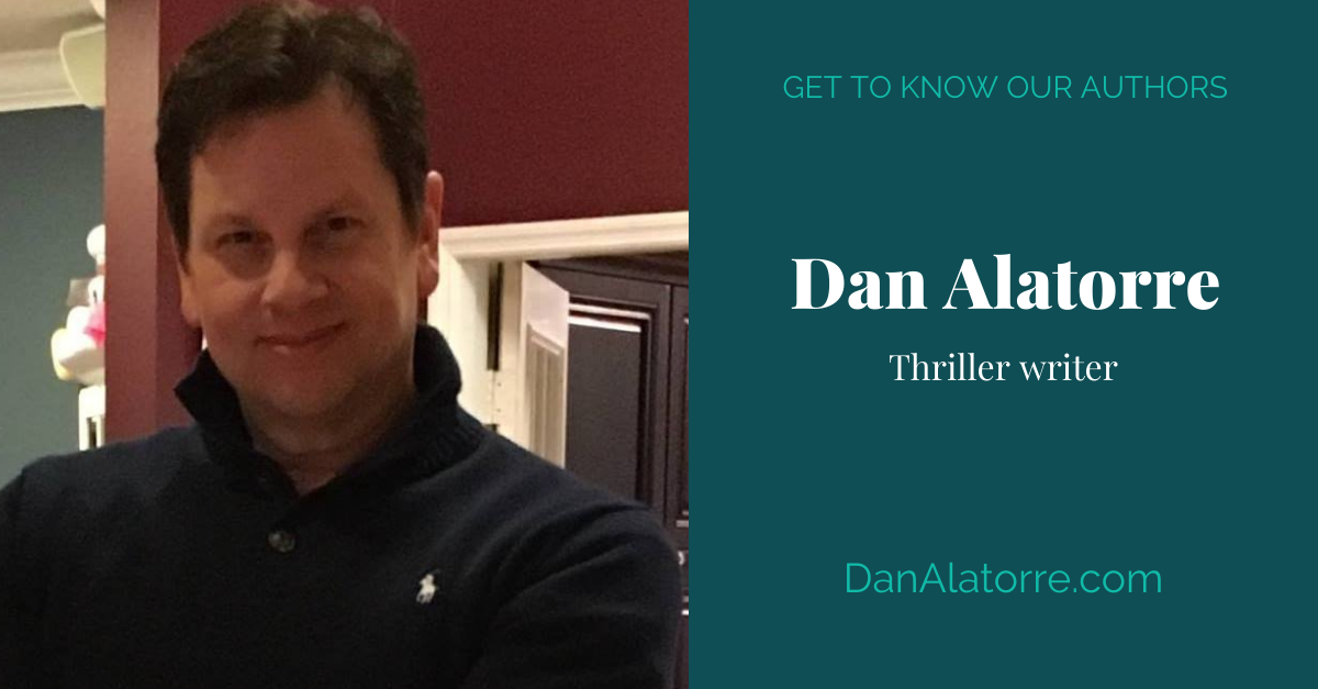 View post titled Author Q&A: Dan Alatorre