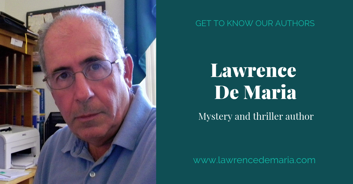 View post titled Author Q&A: Lawrence De Maria