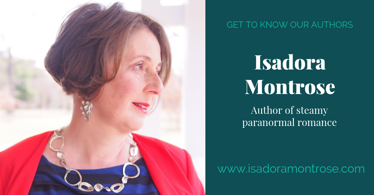 View post titled Author Q&A: Isadora Montrose