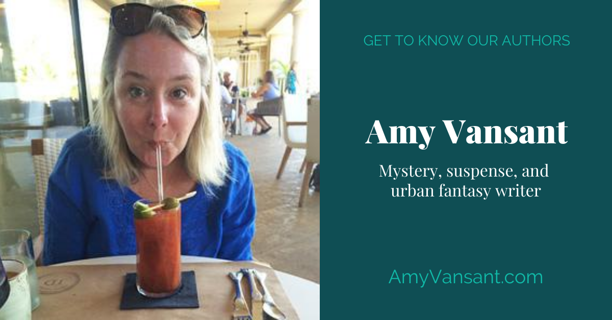 View post titled Author Q&A: Amy Vansant