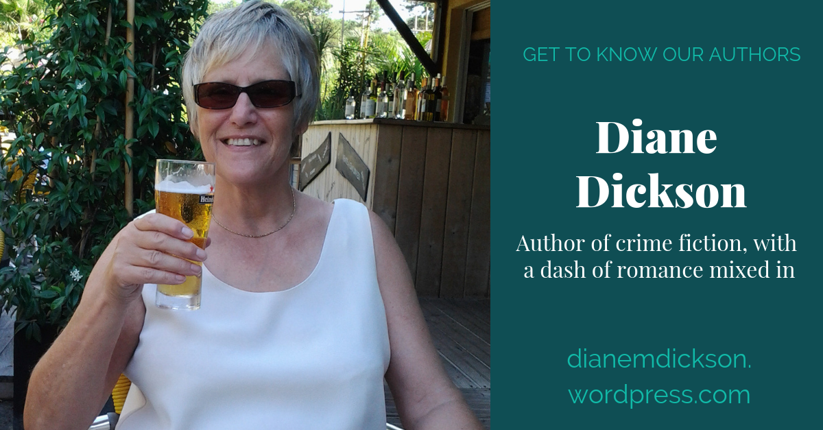 View post titled Author Q&A: Diane Dickson