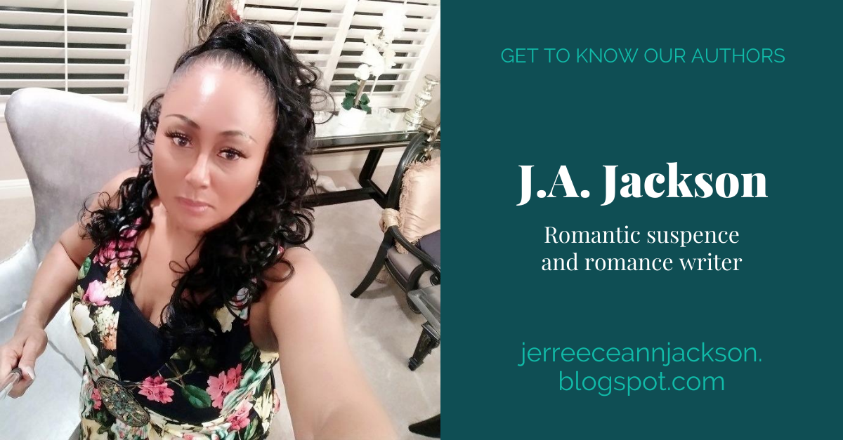View post titled Author Q&A: J.A. Jackson