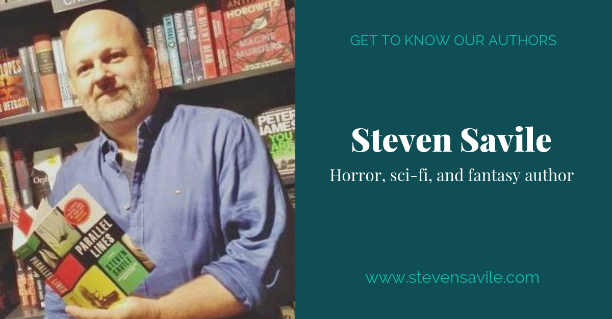 View post titled Author Q&A: Steven Savile
