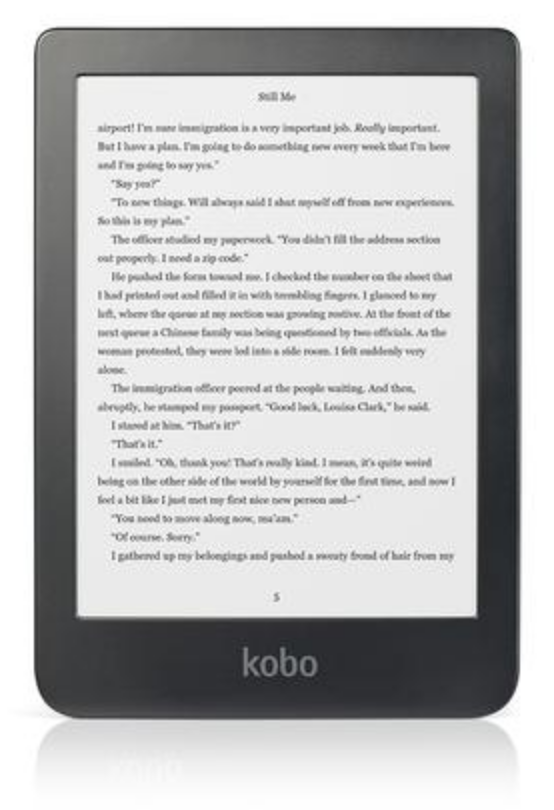 Rakuten Kobo's new e-reading device