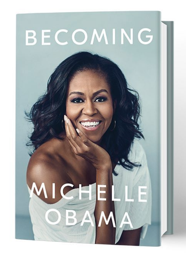 """Becoming,"" the upcoming memoir of former first lady Michelle Obama"