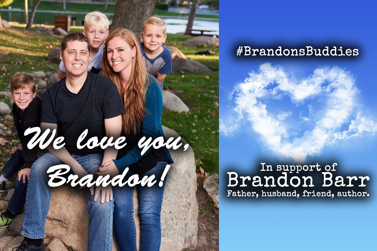 View post titled Author Q&A: Brandon Barr