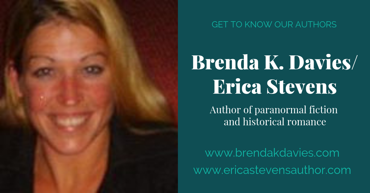View post titled Author Q&A: Brenda K. Davies/Erica Stevens