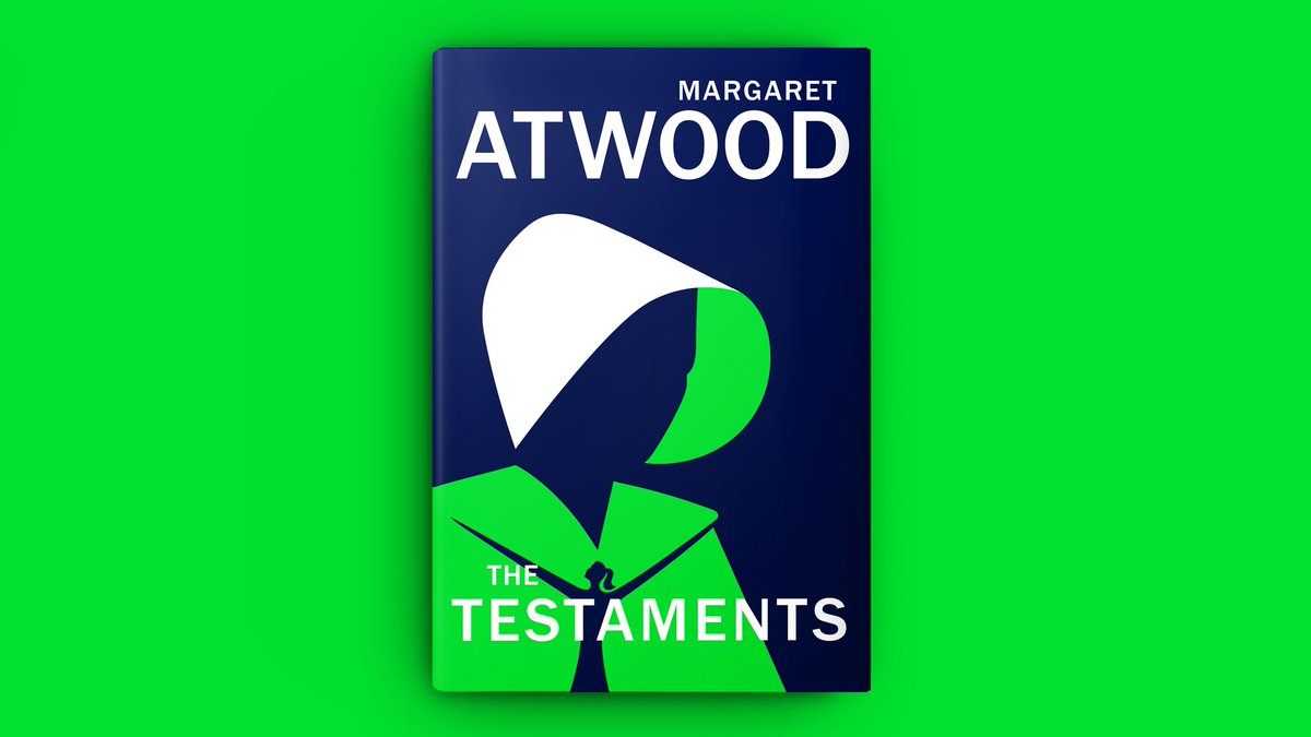 "View post titled Margaret Atwood unveils cover of ""The Testaments"""