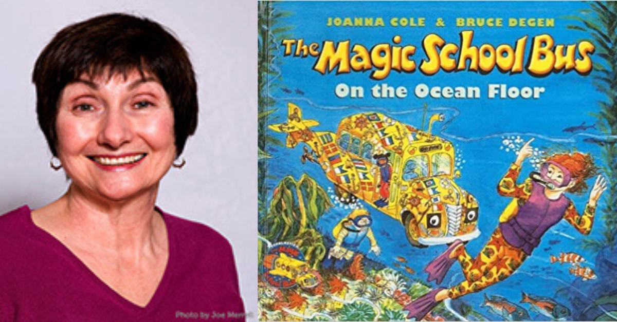 "View post titled ""Magic School Bus"" author Joanna Cole has died"