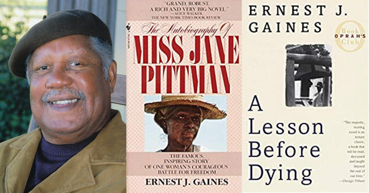 View post titled Novelist Ernest J. Gaines has died